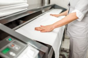 Cottage Team offer a professional Laundry Service
